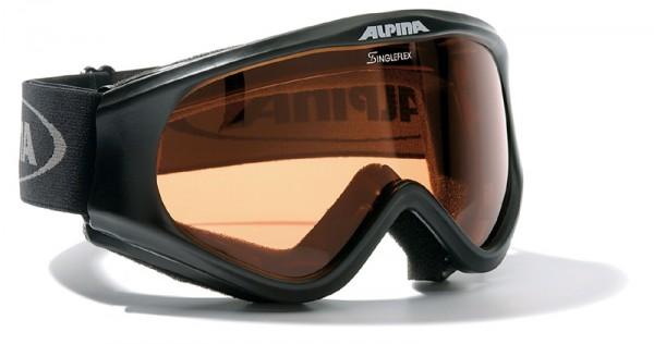 Skibrille Alpina  Driber Hicon schwarz oder gun