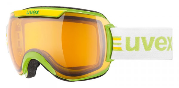 Skibrille Uvex Downhill 2000 race green-yellow