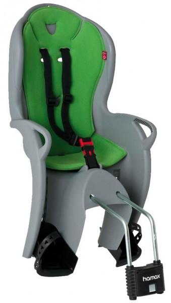 Kindersitz Hamax Kiss in grau/grün