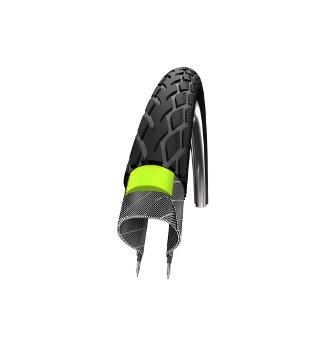 Reifen SCHWALBE HS 420 Marathon Green Guard schwarz Reflex 37-590