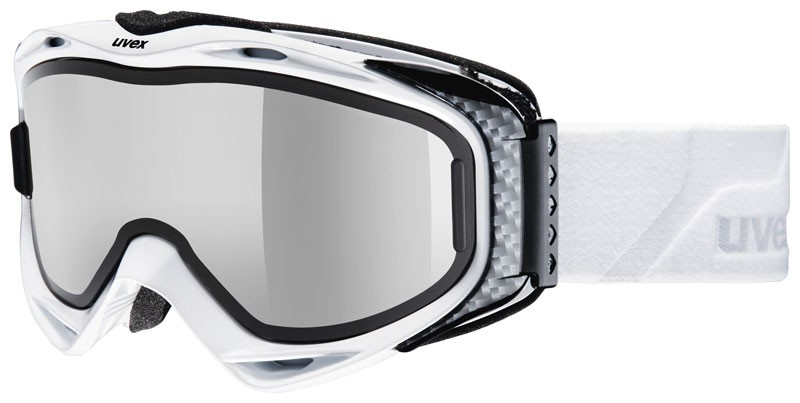 Skibrille Uvex g.gl 300 Take Off Pola black & white