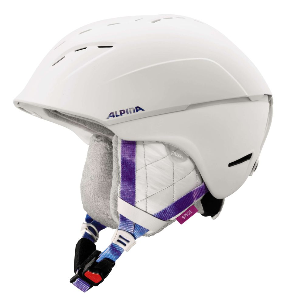 Skihelm Alpina SPICE Freeride 3-D-Fit Hybrid-Technologie