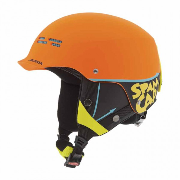 Kinder Skihelm Alpina SPAM CAP Junior 50-54
