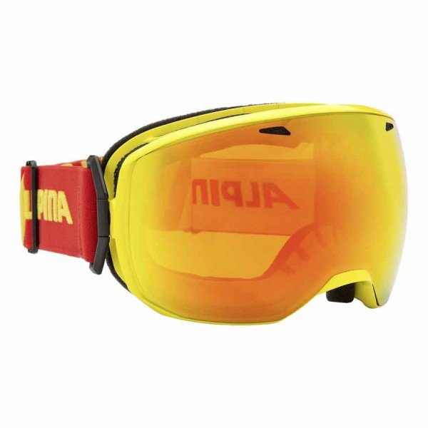 Skibrille Alpina BIG HORN MM S2 yellow