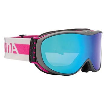 Skibrille Alpina Challenge S 2.0 QM S2 Quattroflex anthracite