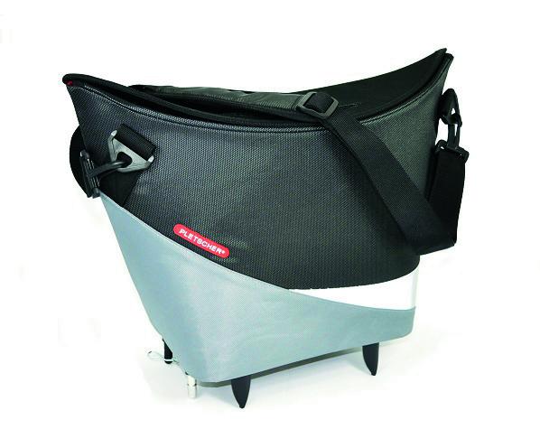 Fix Shopping Easy Pletscher Adapter Tasche In Mit Martella Schwarzgrau thdrsQC