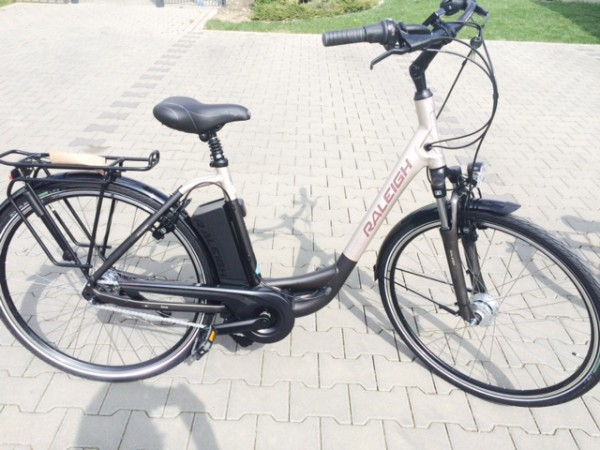 e bike raleigh dover impulse 7r hs wave 11ah in grey matt. Black Bedroom Furniture Sets. Home Design Ideas
