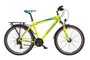 Jugendrad MORRISON Lotus Diamant in Blue/Lime Green 24-Gang-Schaltung
