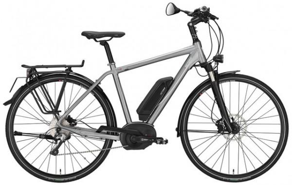 E-Bike Victoria e Spezial 10.7 Herren in quarzgrey matt/weiß 45 km/h BOSCH Performance Line