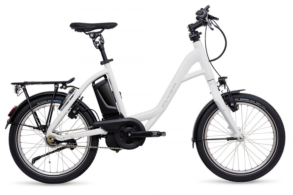 "E-Bike Flyer Flogo 3.01R Rücktrittbremse 20"" 8-G Rh 46 12 AH"