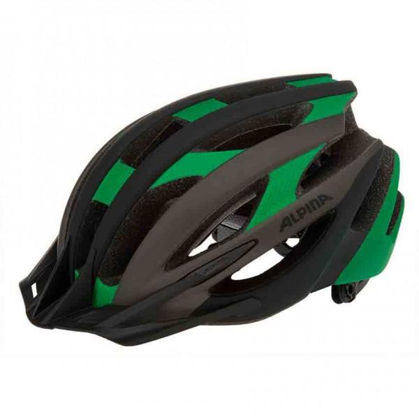 mtb fahrradhelm alpina pheox l e black green leicht und. Black Bedroom Furniture Sets. Home Design Ideas