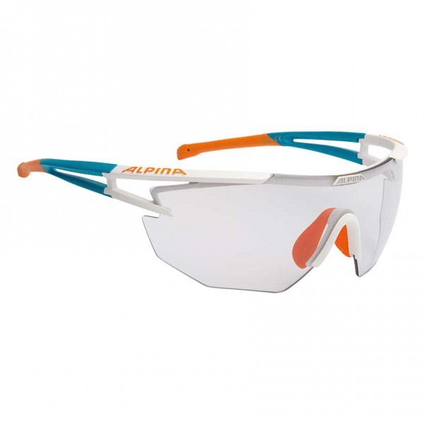 Sportbrille Alpina Eye-5 SHIELD VL+ FOGSTOP mit Case