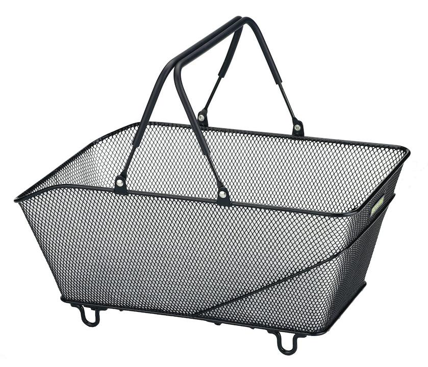 Fahrradkorb RACKTIME Gepäcktragerkorb Baskit Trunk  mit SnapIt Adapter schwarz