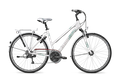 """Trekkingrad Kalkhoff My Style CONNECT LADY 27 27G 28"""" Trapez in white oder silver 001"""
