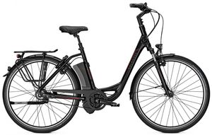 "Komfort-E-Bike Kalkhoff AGATTU PREMIUM IMPULSE 8 Wave 17Ah 26"" black Rh 46"