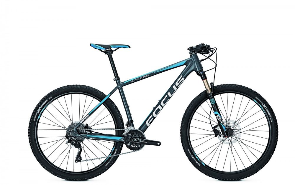 "Mountainbike Focus BLACK FOREST PRO 27 20G 27"" Rock Shox Reba RL"