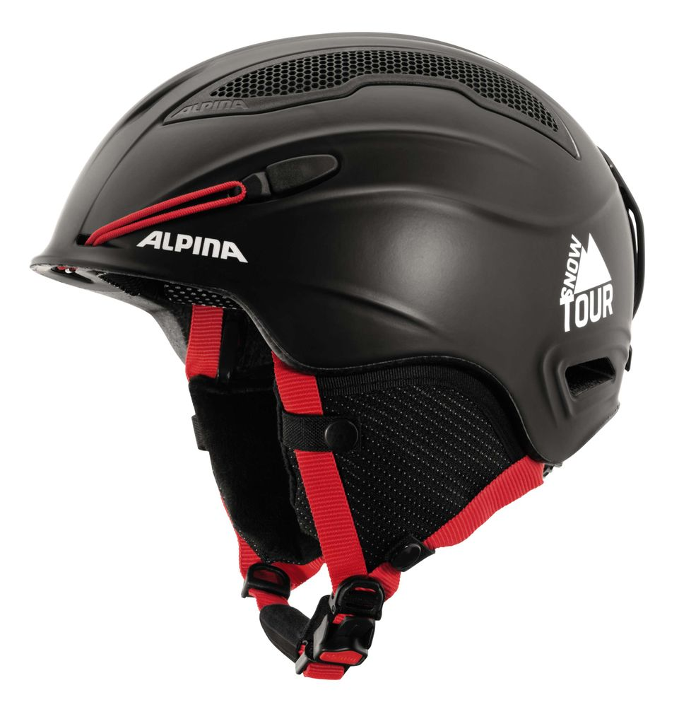 Skihelm Alpina SNOW TOUR white blue, red blue und black red