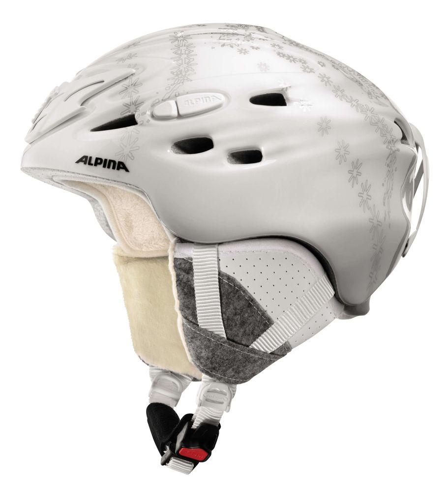 Skihelm Alpina  Scara, leichter Inmoldhelm mit perfektem Sitz – Bild 8