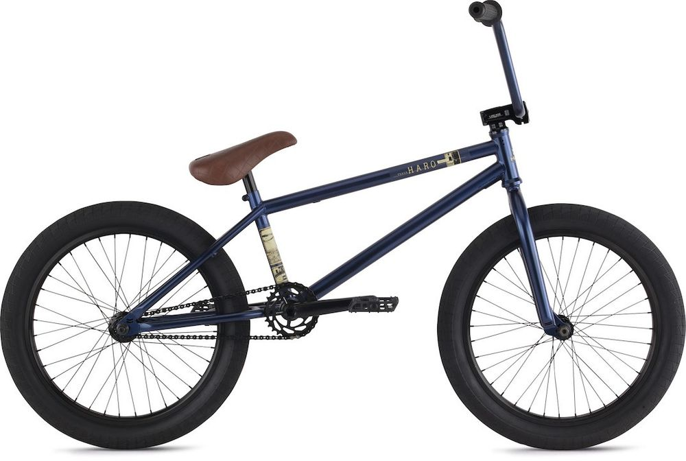 "BMX Haro Plaza Freestyle 21"" RH 29 cm 20"" blue/black"