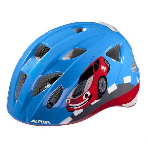 Kinder-Fahrradhelm Alpina XIMO FLASH mit guter Belüftung und Multi-Fit-Light – Bild 3