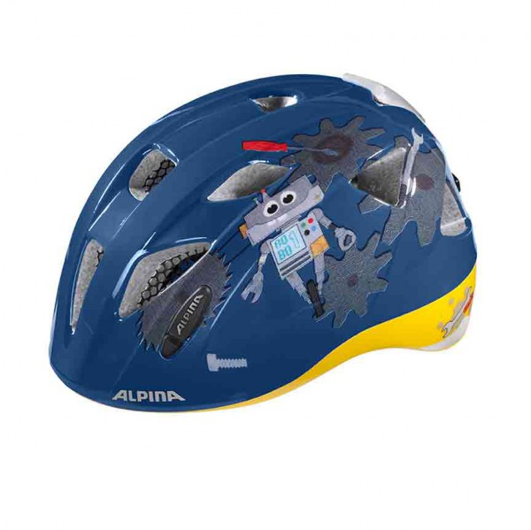 Fahrradhelm Alpina XIMO FLASH A9710 Junior / Kids – Bild 4