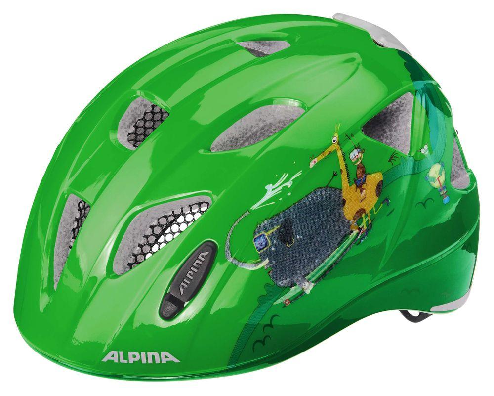 Kinder-Fahrradhelm Alpina XIMO FLASH mit guter Belüftung und Multi-Fit-Light – Bild 8