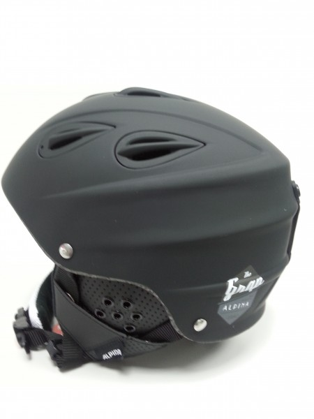 Skihelm Alpina GRAP / GRAP CROSS in black matt 54-57 cm