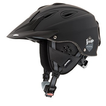 Skihelm Alpina GRAP / GRAP CROSS in black matt 54-57 cm – Bild 2