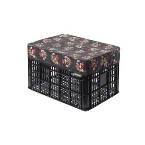 Abdeckhaube BASIL Katharina-Crate Cover in schwarz