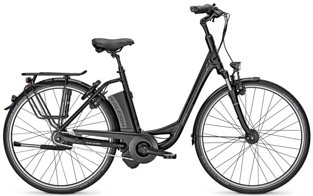E-Bike Raleigh DOVER IMPULSE 8R HS Wave 8-G 14,5Ah Rücktritt Magicblack