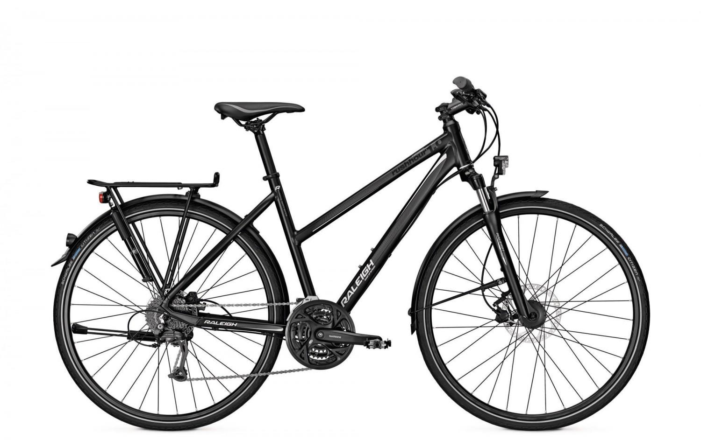 trekkingbike raleigh rushhour 1 0 damen 28 27 gang. Black Bedroom Furniture Sets. Home Design Ideas