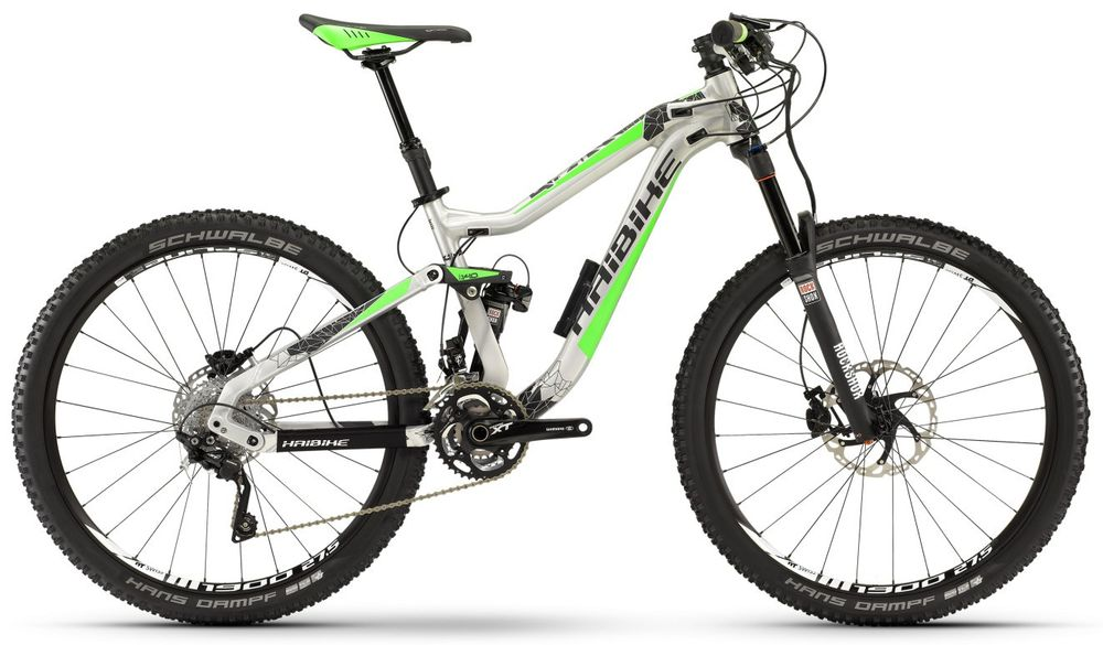 "MTB Fully Haibike Q.AM 7.20 27,5"" 30-G XT"