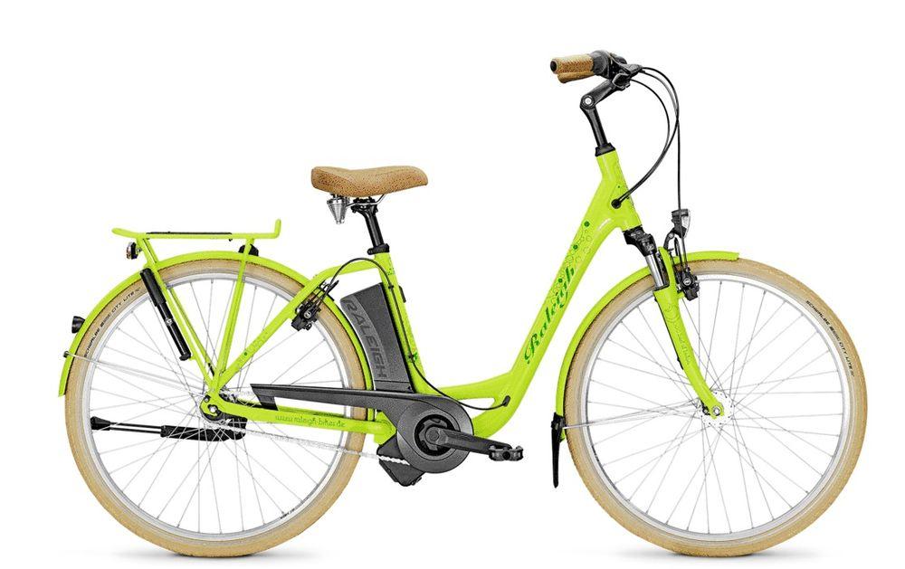 "E-Bike Raleigh DOVER IMPULSE 7R HS 7G 28"" 11Ah 36V green - Rücktritt"