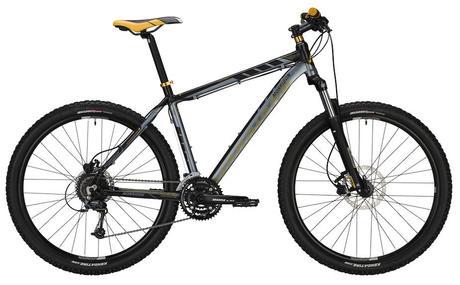 "MTB Morrison Blackfoot 29"" 27-Gang hydr. Scheibenbremse in black/grey"