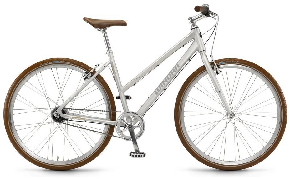 "Urban-Bike Winora Alan Damen 28"" 8-Gang Shimano Nexus Freilauf ca 12,5 kg!"
