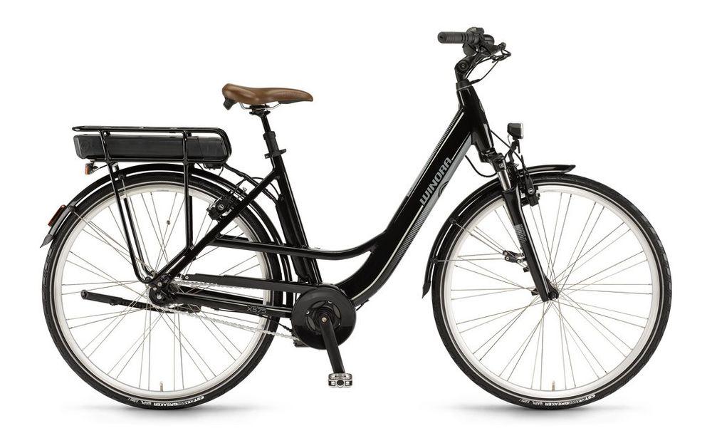 "E-Bike Winora X575.F Einrohr 28"" 7-G AGT Freilauf 36V 400 Wh Akku"