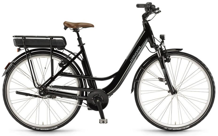 """E-Bike Winora X575.C Einrohr 28"""" 7-G AGT Rücktritt 36V mit 400 Wh Akku"""