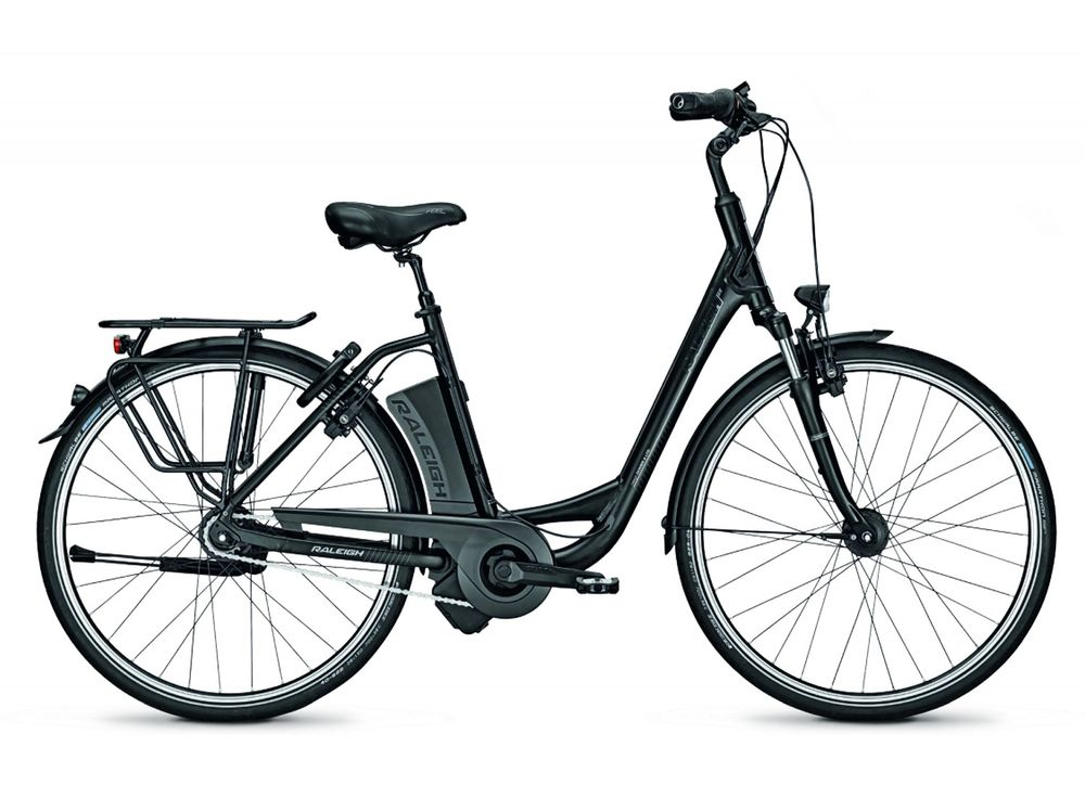 "E-Bike Raleigh Dover Impulse 8 LTD  Freilauf 26"" Wave 17 Ah 8-G Rh 46"