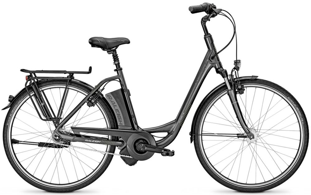 "E-Bike Raleigh Dover Impulse 7R HS Rücktritt Wave 28"" 7-G 11 Ah grey"