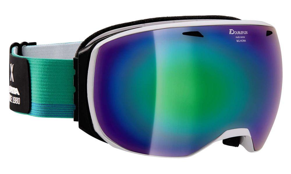 Skibrille Alpina Big Horn MM Multimirroscheibe rahmenlos – Bild 2