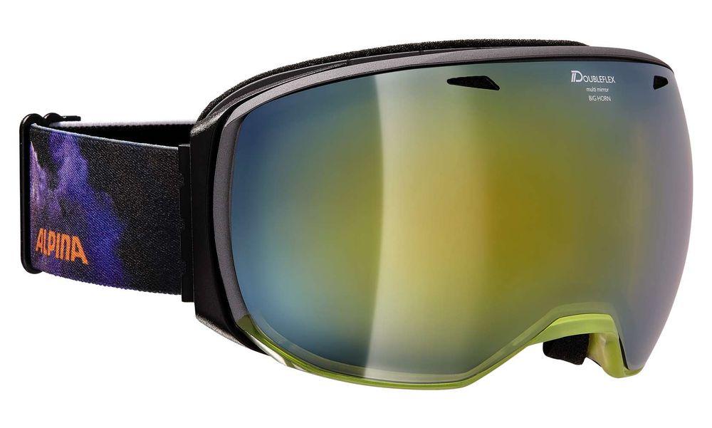 Skibrille Alpina Big Horn MM Multimirroscheibe rahmenlos – Bild 6
