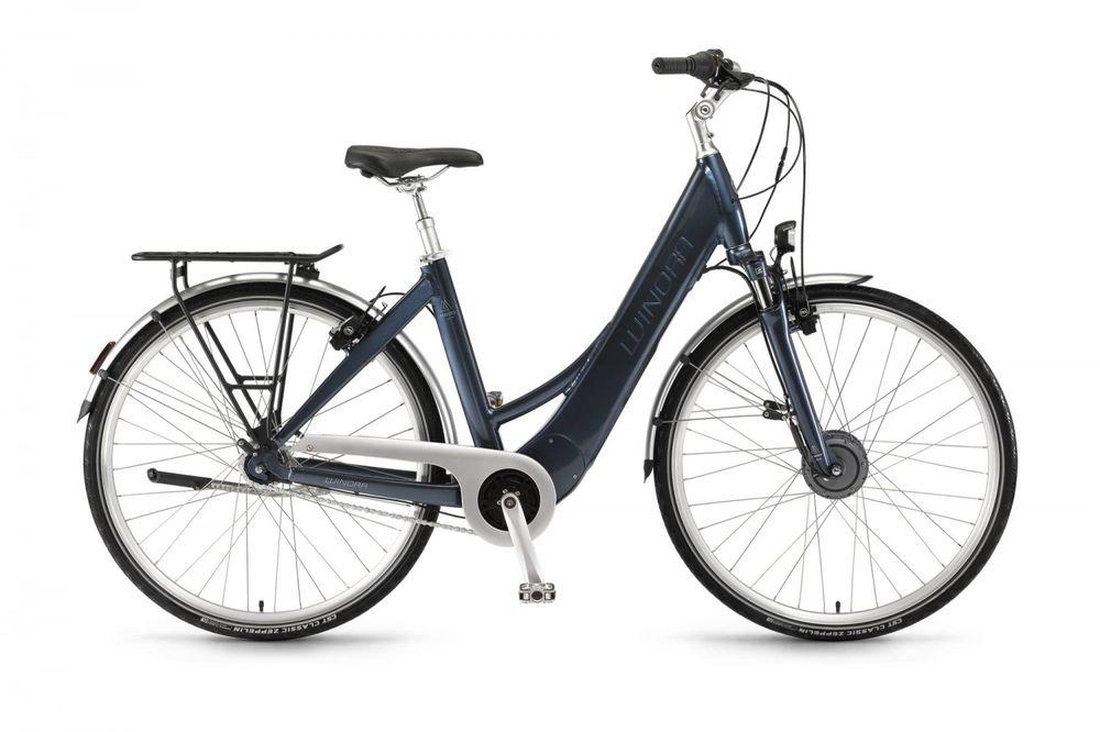 "E-Bike Winora Manto F7 Ruecktritt 28"" TranzX Motor 400 Wh Akku 7-Gang Magura-Bremse"