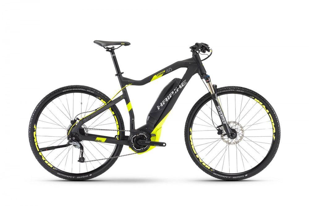 "E-Bike Haibike SDURO Cross 4.0 28"" 9-G Acera Herren Yahama PW-System"