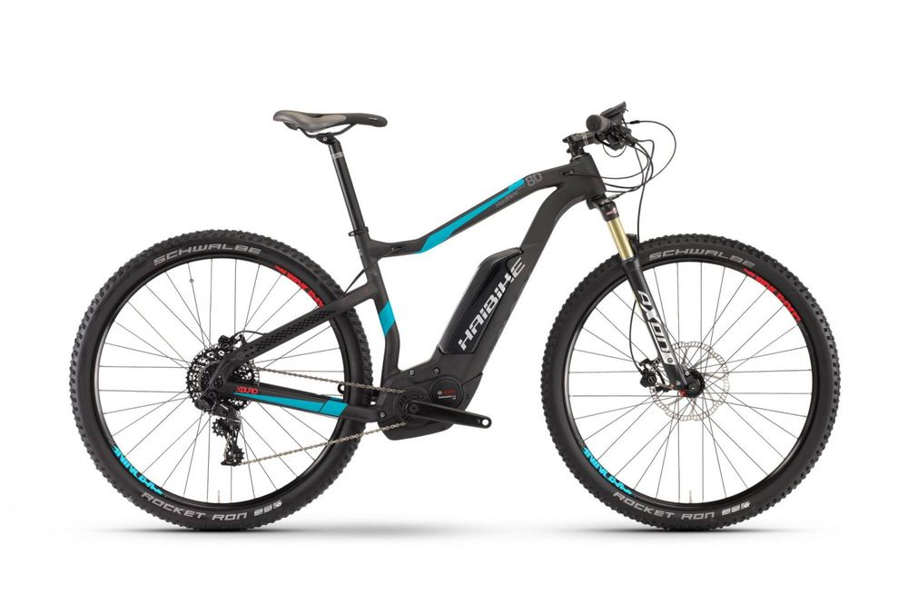 "E-Bike Haibike XDURO HardNine Carbon 8.0 29"" 11-G NX Bosch Performance CX"