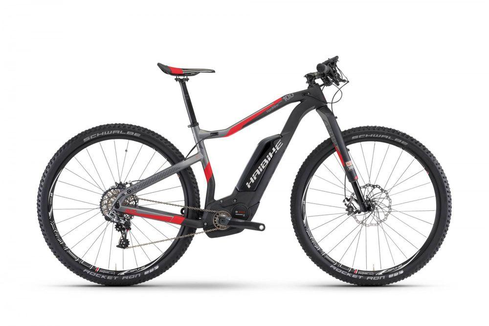"E-Bike Haibike XDURO HardNine Carbon 10.0 29"" 11-G XX1 Bosch Performance CX"