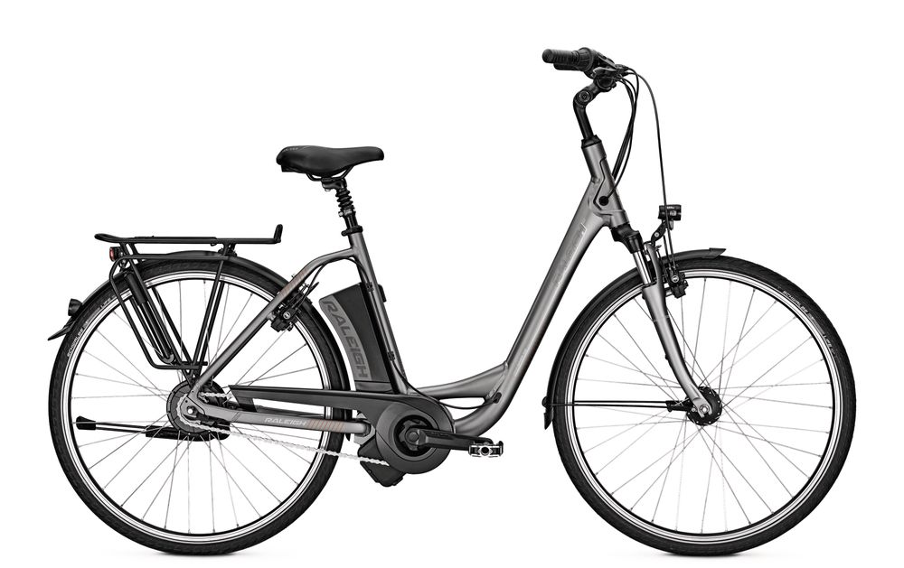E-Bike Raleigh Dover 330 11 Ah 26 Zoll Wave Freilauf in greymatt Rh 46