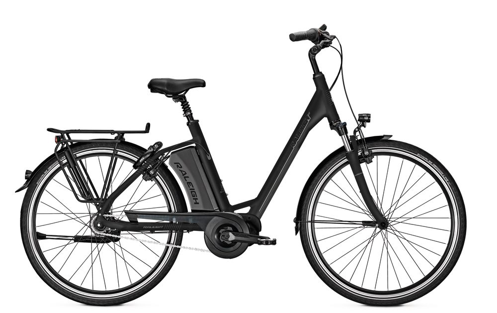 E-Bike Raleigh Corby 7 7G 13 Ah 26 Zoll Wave Freilauf in blackmatt Rh 45