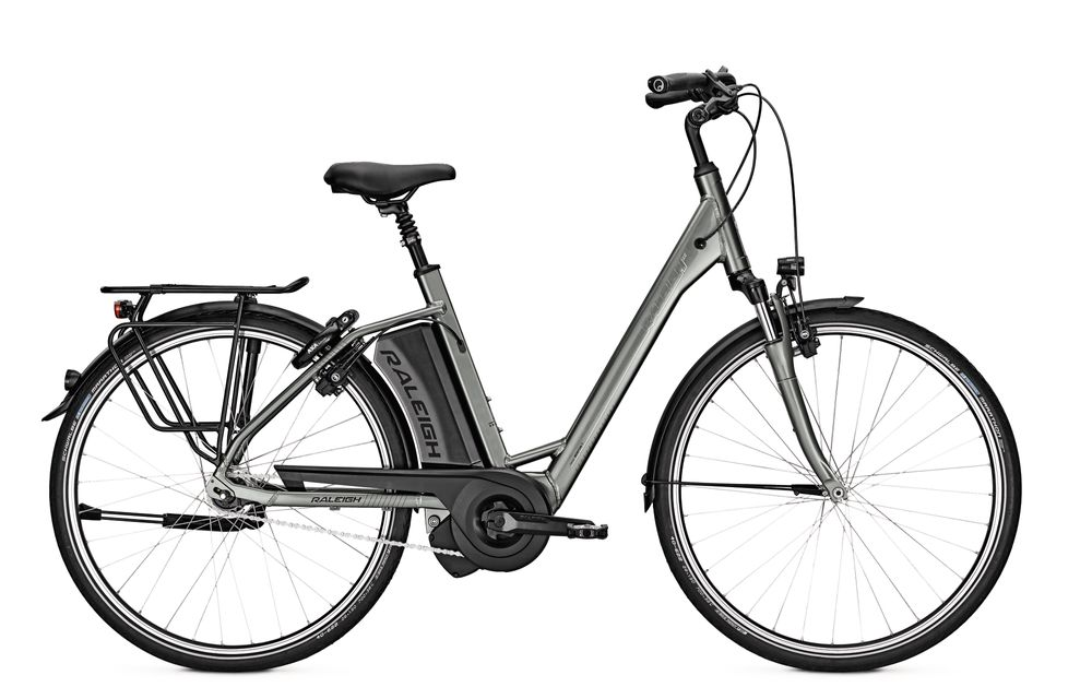 E-Bike Raleigh Boston 7 ES 7G 13 Ah 28 Zoll Wave Freilauf in grey