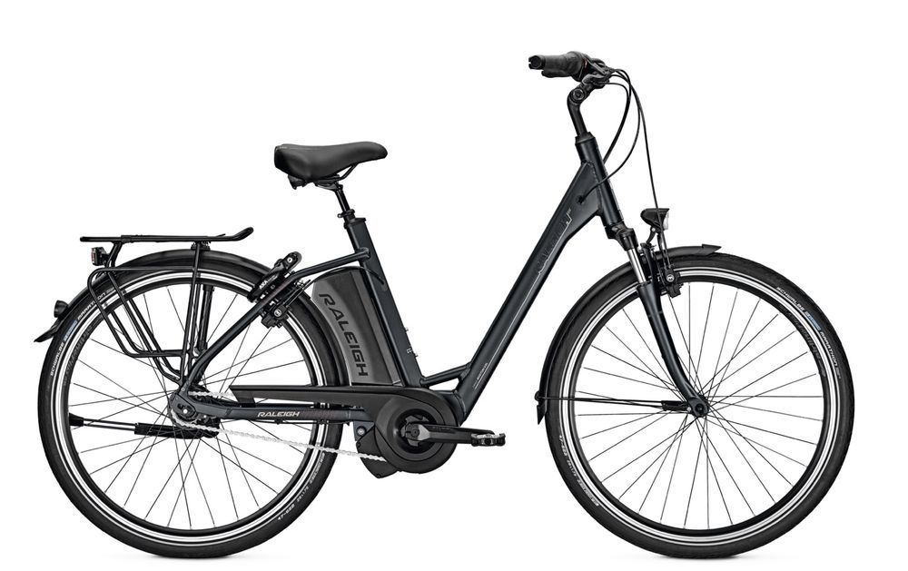 E-Bike Raleigh Boston R XXL 8G 17.5 Ah 26 Zoll Wave Rücktritt in bluematt Rh 45