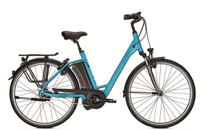 E-Bike Raleigh Boston 8 HS 8G 17.5 Ah 28 Zoll Wave Freilauf blue Impulse EVO – Bild 1